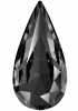 SWAROVSKI®   4322 Teardrop Crystal Silver Night