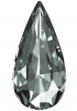 SWAROVSKI®   4322 Teardrop Black Diamond
