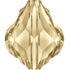 SWAROVSKI®  5058 Baroque Bead  Crystal Golden Shadow