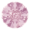 AURORA   A1201  Fancy Chaton Silver Foiled Light Rose
