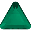 SWAROVSKI®   2711 Triangle  Emerald   Hotfix