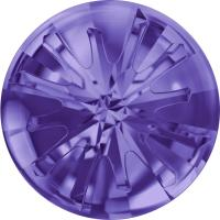 SWAROVSKI® 1695 Sea Urchin  Tanzanite   Foiled