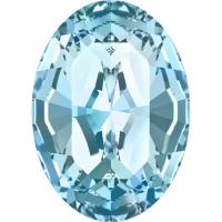 SWAROVSKI® 4128 Aquamarine  Unfoiled