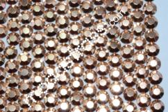 Alu Strass Rhinestuds Hotfix Copper