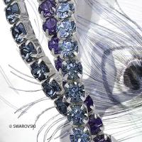 SWAROVSKI ® Stretch Bracelet Set   Glamour