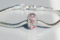 Bracelet BeCharmed I LOVE YOU Light Rose