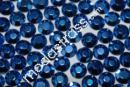 Alu Strass Rhinestuds Hotfix Navy-Blue 4 mm|1500 pcs - 8,90 EUR